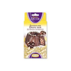 100 g de pépites au chocolat blanc