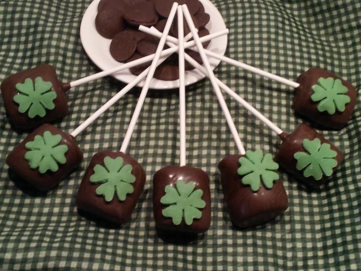 Sucette de la  Saint Patrick