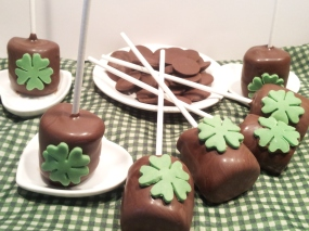 Sucette de la Saint Patrick 2
