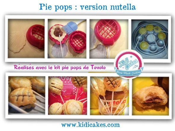 La recette de pie pops au nutella