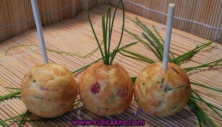 cake pops aux lardons