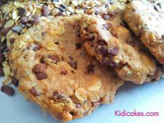 Cookies au muesli chocolat recette simple des cookies au muesli au chocolat produits naturels muesli et chocolat Kidicakes