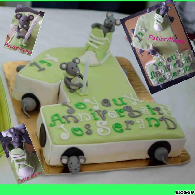 résultat du jeu concours photo gâteau d'anniversaire Kidicakes