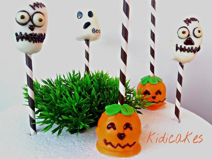 ake pops halloween cake pops citrouille cake pops fantôme cake pops crâne