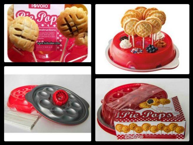 Pie pops kit de tovolo mis en jeu concours phto pâtisserie Kidicakes