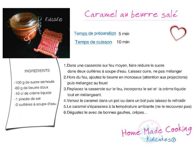 caramel au beurre salé idéal pour accompagner les gaufres crêpes