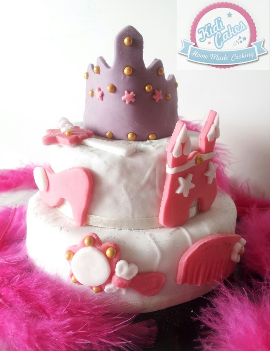 ♕  Gâteau anniversaire princesse facile  ♕