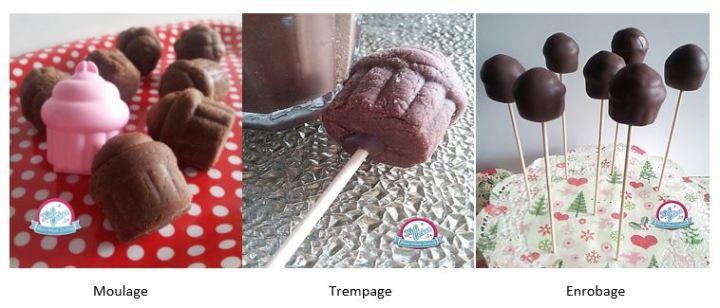 Délicieuse recette de cupcake pops cake pops au pain d'épices, recette cake pops pain épices,cupcake pops pain épices