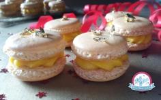 macaron smoothie mangue fruit de la passion, recette coque macaron inratable et ganache smoothie mangue passion, macaron mangue passion proposé par kidicakes