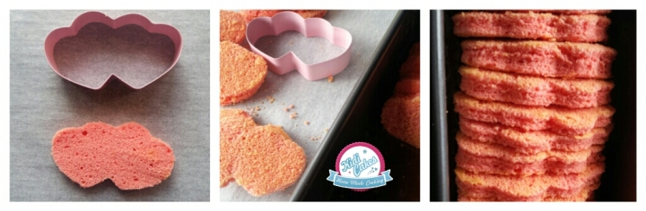 Cake au chocolat coeur de framboise, recette idéal pour la saint valentin. Recette de cake au chocolat facile, avec une rangée de coeur rose à l'intérieur. Cake au chocolat coeur rose, une recette proposé poar Kidicakes