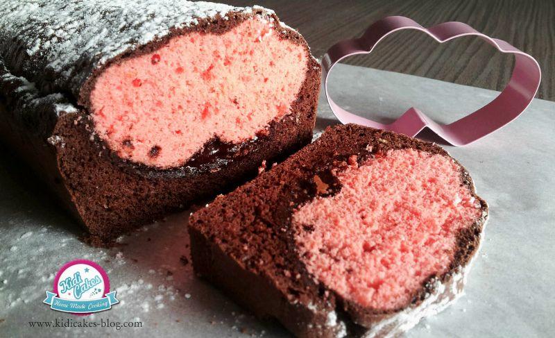 gateau au chocolat de rose