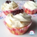 Cupcake à la vanille et aux cranberries, une recette de cupcake proposé par Kidicakes. Cupcake muffin aux cranberries avec des ingrédients naturels. Réalisez vite les cupcakes