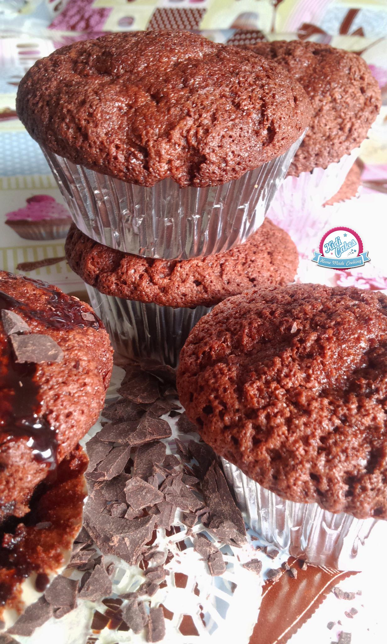 Muffin au chocolat une recette pour les amoureux de chocolat. Muffin au chocolat à tomber par terre, inspiration de la recette originale des muffins de la cuisine de bernard.