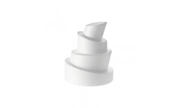 Gâteau polystyrène factice, recouvrez le de pâte, disque polystrène wooky pour faire un gâteau polystyrène