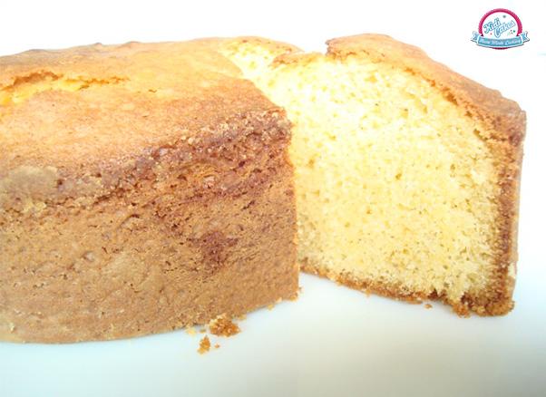 Sponge Cake Avec Ou Sans Beurre