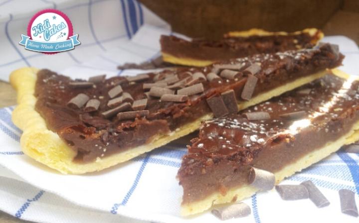 Recette tarte flan au nutella fait maison, envie de nutella Kidicakes propose cette délicieuse tarte au nutella ou flan au nutella.