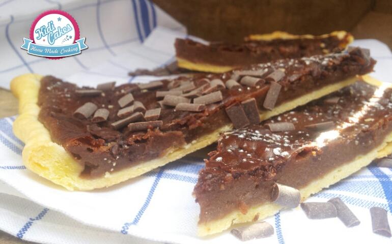 Tarte Flan Au Nutella Avec Kidicakes La Deco C Est Du Gateau