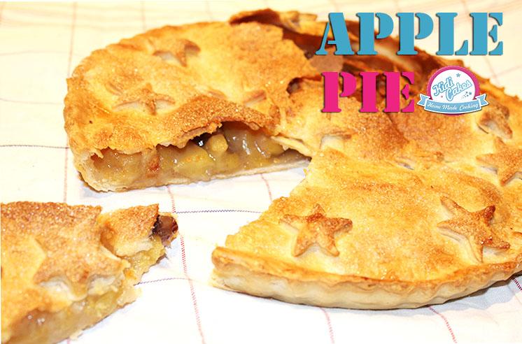 Recette de l'apple Pie à l'américaine et la vraie !!! L'apple pie est une tourte aux pommes à la cannelle, un classique venu tout droit des USA.