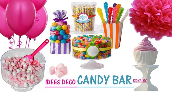 Idées déco candy bar