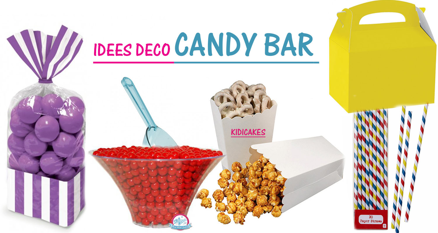 Idee deco candy bar beautiful ides candy bar et dco with idee deco candy bar stunning cheap - Idee deco bar ...