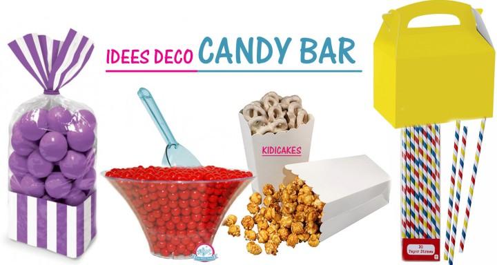 Idées candy bar et déco
